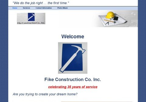fikeconstruction.net thumbnail