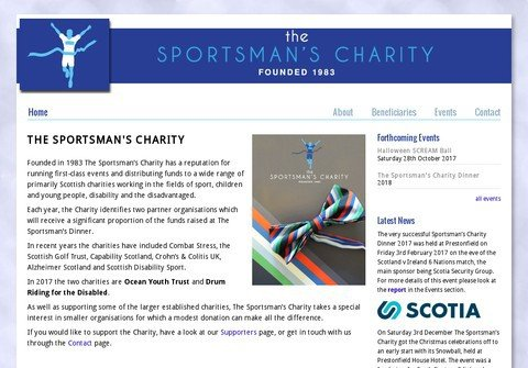 sportsmanscharity.com thumbnail