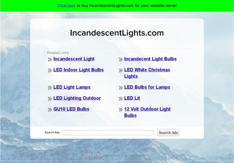 incandescentlights.com thumbnail