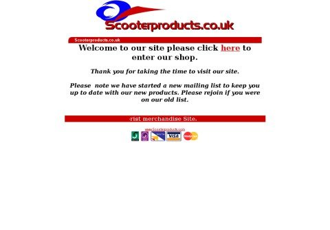 scooterproducts.com thumbnail