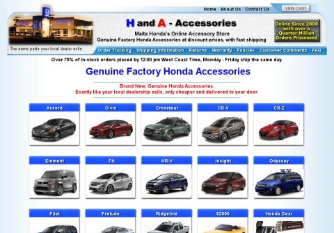 handa-accessories.com thumbnail