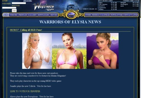 warriorsofelysia.com thumbnail
