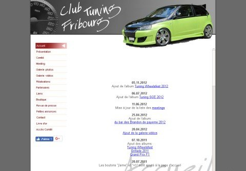 clubtuningfribourg.com thumbnail
