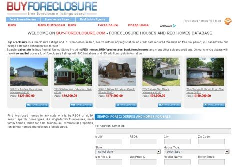 buy-foreclosure.com thumbnail