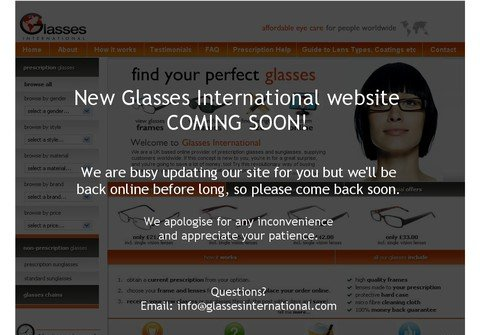 glassesinternational.com thumbnail