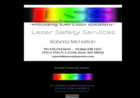 lasersafetyservices.com thumbnail