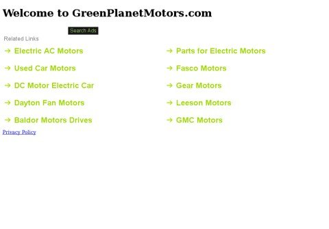 greenplanetmotors.com thumbnail
