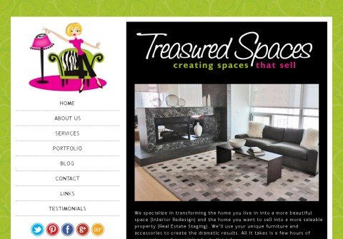 treasuredspaces.com thumbnail