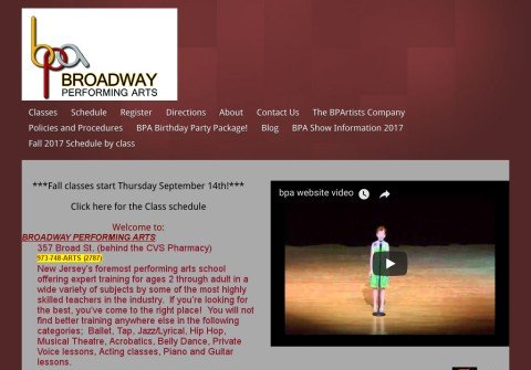 broadwayperformingarts.net thumbnail