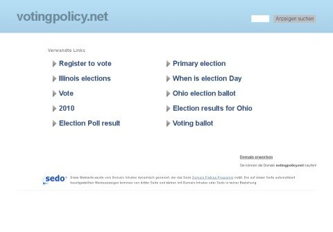 whois votingpolicy.net