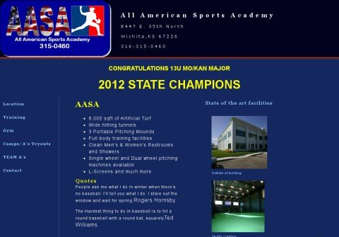 all-americansportsacademy.com thumbnail