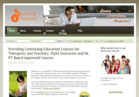 elearningfortherapists.com thumbnail