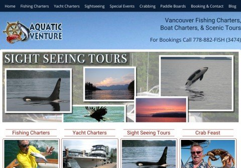 fishingchartervancouver.com thumbnail