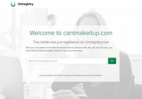 cantmakeitup.com thumbnail