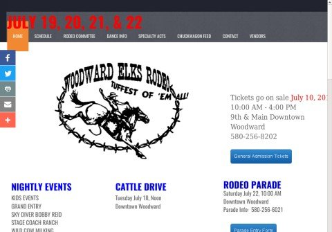 woodwardelksrodeo.com thumbnail