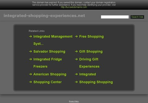 integrated-shopping-experiences.net thumbnail