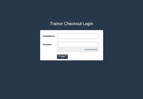 trainorcheckout.com thumbnail