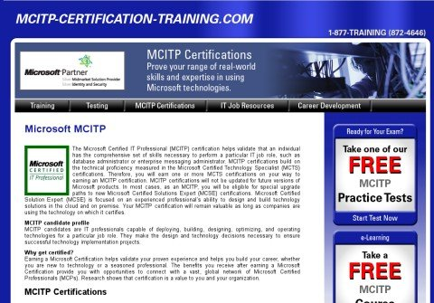 mcitp-certification-training.com thumbnail