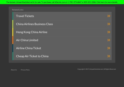 chinaairlineticket.net thumbnail