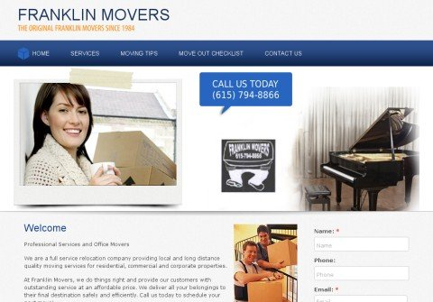 franklinmovers.com thumbnail