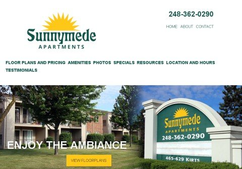sunnymedeapartments.com thumbnail