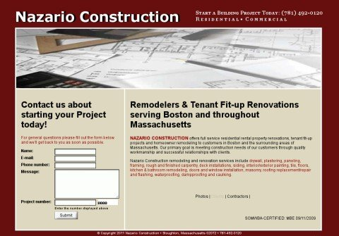 nazarioconstruction.com thumbnail