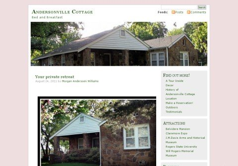 andersonvillecottage.com thumbnail