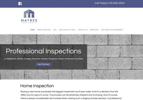 maybeeinspections.com thumbnail