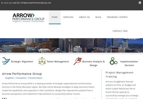 arrowperformancegroup.com thumbnail