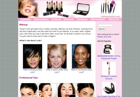 makeup-product.com thumbnail