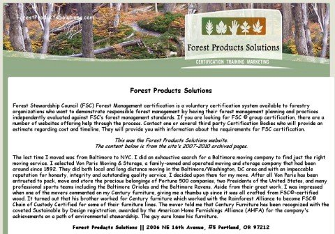 forestproductssolutions.com thumbnail