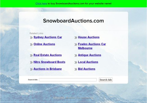 snowboardauctions.com thumbnail