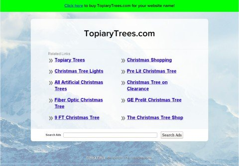 topiarytrees.com thumbnail