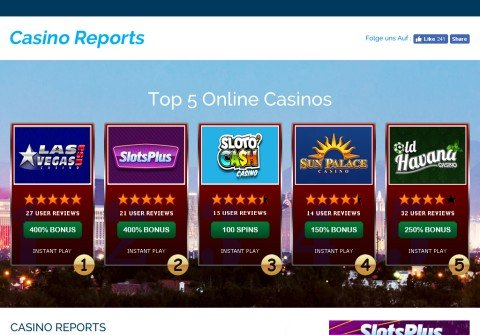 thecasinoreports.com thumbnail