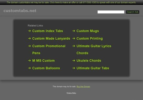 customtabs.net thumbnail