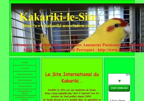 kakariki-association.com thumbnail