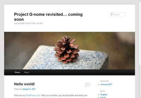 project-gnome.com thumbnail