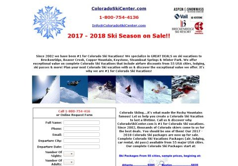 coloradoskicenter.com thumbnail