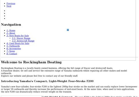 rockinghamboating.com thumbnail