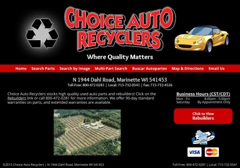 choiceautorecyclers.com thumbnail