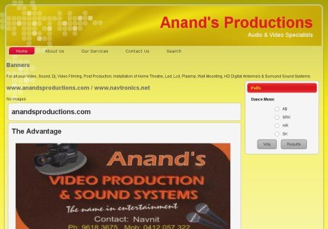 anandsproductions.com thumbnail