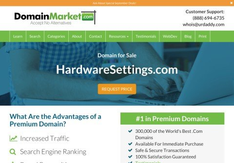 hardwaresettings.com thumbnail