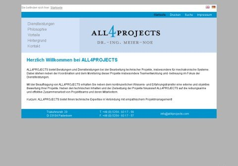 all4projects.com thumbnail