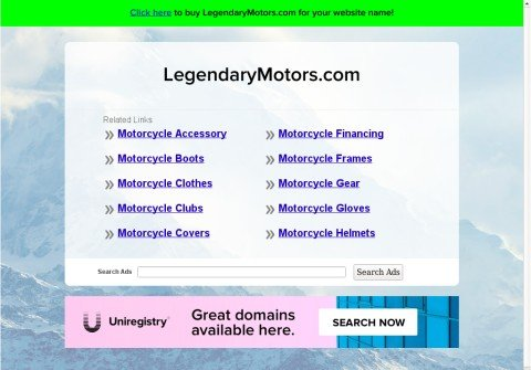 legendarymotors.com thumbnail