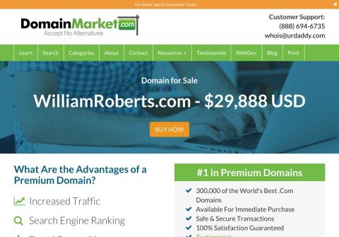 williamroberts.com thumbnail