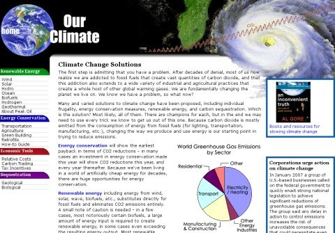 ourclimate.net thumbnail