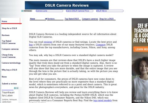 dslrcamerareviews.com thumbnail