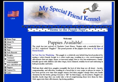 whois myspecialfriendkennel.net
