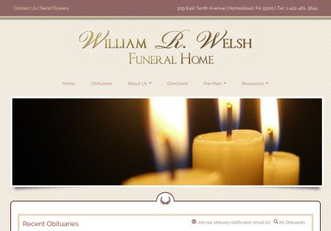 welsh-funeral-home.com thumbnail