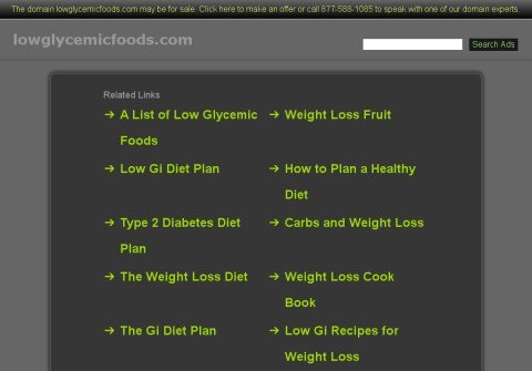 lowglycemicfoods.com thumbnail